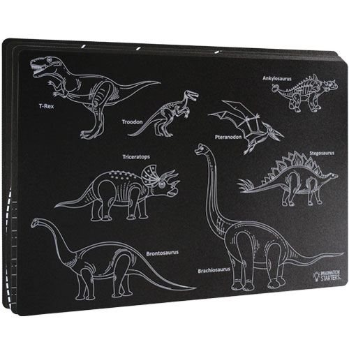 Chalkboard Placemats - Learning Set of 4 - Image one