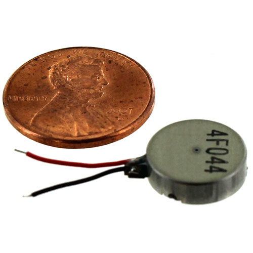 Coin Vibration Motor - 3V - Image one
