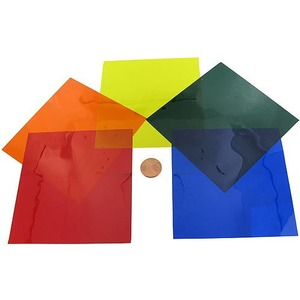 Color Optical Filters - Gelatin - Pack of 5 - Image One