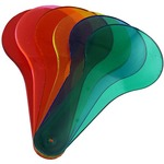 Color Paddles - Set of 18.