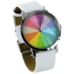 Color Wheel Watch - White.