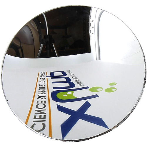 Convex Glass Mirror - 3 inch - Image one