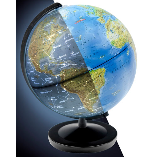 Day & Night Globe - Image two