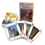 Discover America Playing Cards.