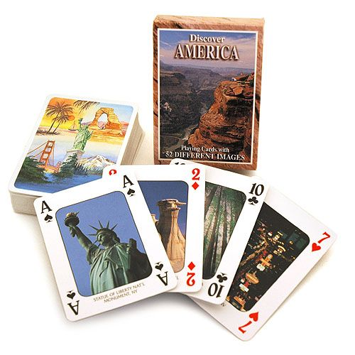 Discover America Playing Cards - Image one