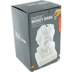 Einstein Coin Bank by Kikkerland - Image One