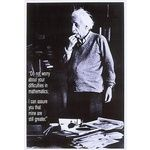 Buy Einstein Mathematics Poster.
