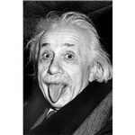 Buy Einstein Tongue Poster.