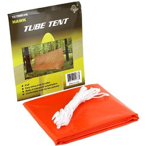 Emergency PE Tube Tent - 6ft - Image One