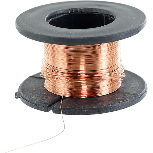 Enamelled Copper Wire - 0.1mm 15m - Image one