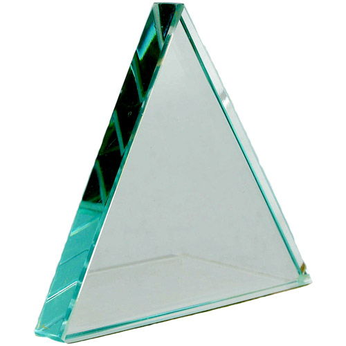 Equilateral Glass Refraction Prism 75 x 9 mm - Image one