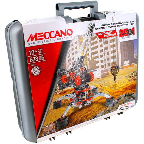 Meccano Super Construction Set - 638 Pieces - Image one
