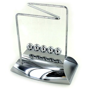 Executive Chrome Newtons Cradle - Image One
