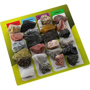 Explore Geology - 24 Rocks & Minerals Set - Image One