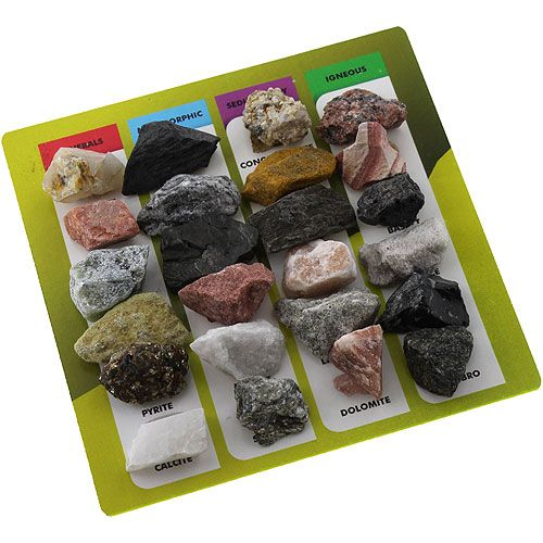 Explore Geology - 24 Rocks & Minerals Set - Image two
