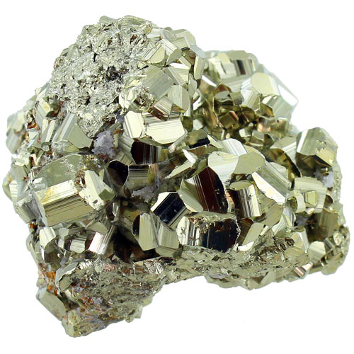 Faceted High Grade Iron Pyrite 2-3 inch Chunk - Image two