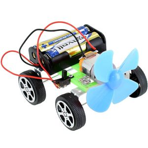 Fan DIY Micro Car Kit - Image One
