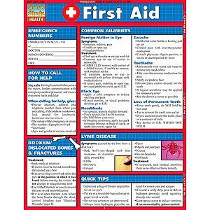 chart on first aid: First aid study chart by xump com