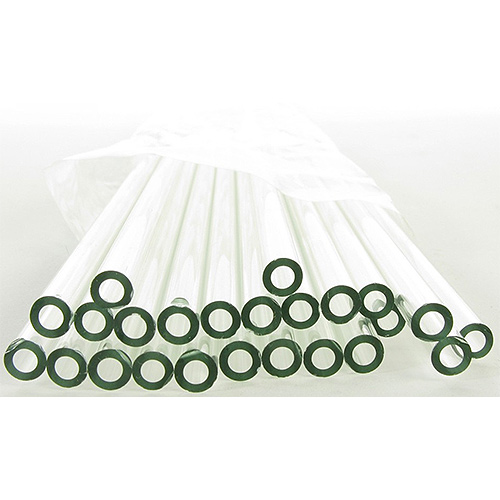 Set of 24 Flint Glass Tubes - 5mm OD x 24 inches - Image one