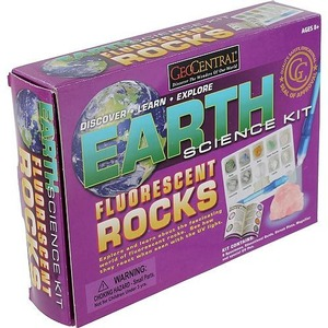 Fluorescent Rocks Science Kit - Image One