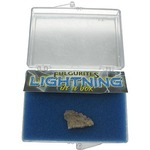 Fulgurite - Lightning in a Box.