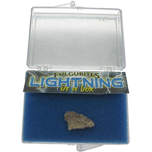 Fulgurite - Lightning in a Box - Image one