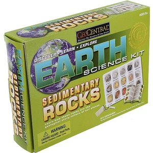 GeoCentral Sedimentary Rock Science Kit - Image One