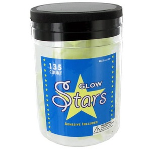 Glow-in-the-Dark Jar of Stars (Image One) @ xUmp.com