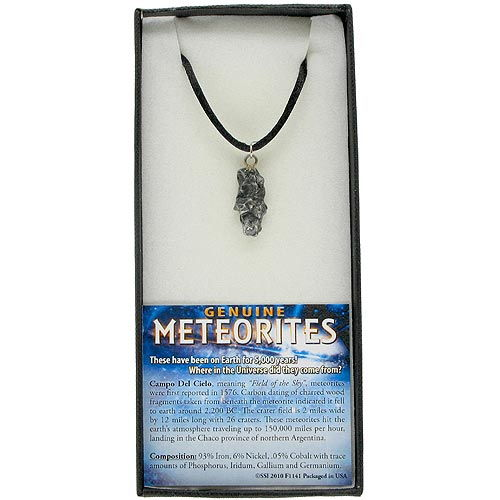 Genuine Meteorite Necklace - Image one
