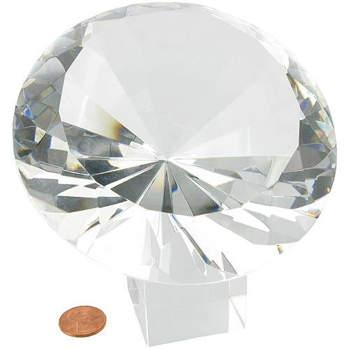 Giant Glass Diamond - Image one