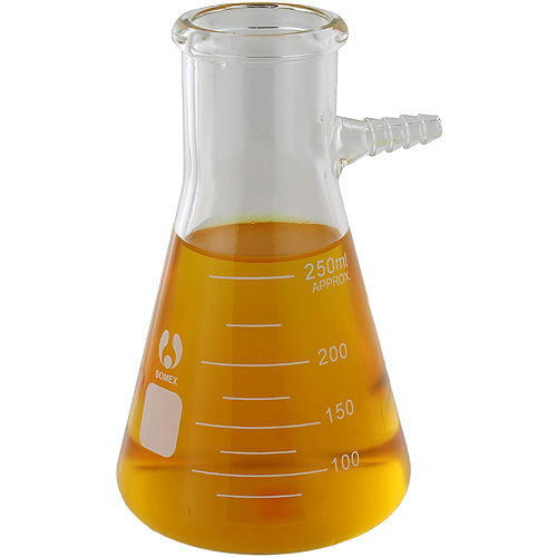 Glass Filtering Flask - 250ml - Image one