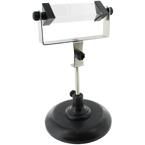 Glass Prism with Stand - Image one