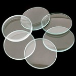 Glass Lens Set, Set of 6.