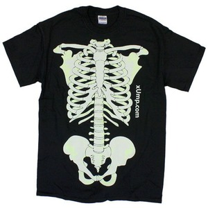 Glow Skeleton T-Shirt - Image One