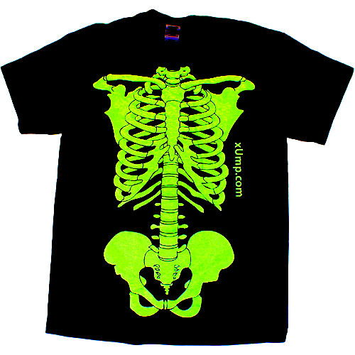 Glow Skeleton T-Shirt - Image two