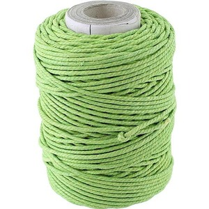 Green Cotton Pulley Thread - Image One