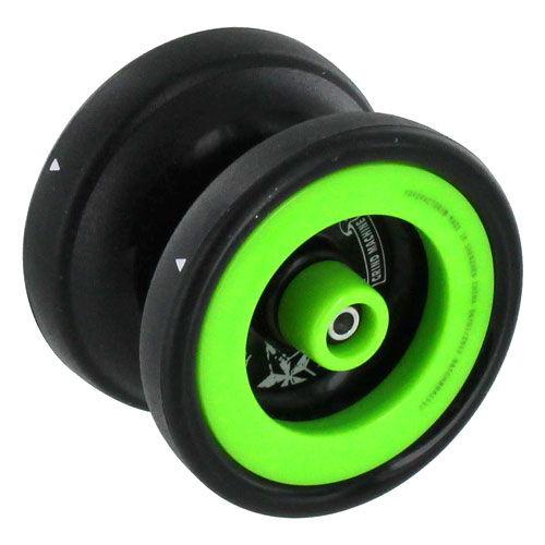 Пластиковое йо-йо сочетает в себе всё самое необходимое для продвинутого игрока - пластиковые утяжеляющие кольца