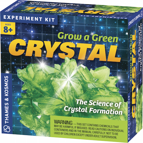 Grow a Green Crystal - Image one