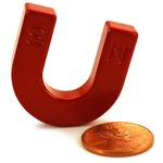 Buy Ceramic Horseshoe Magnet.