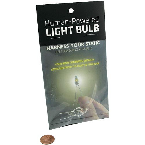 Human-Powered Light Bulb - Image one