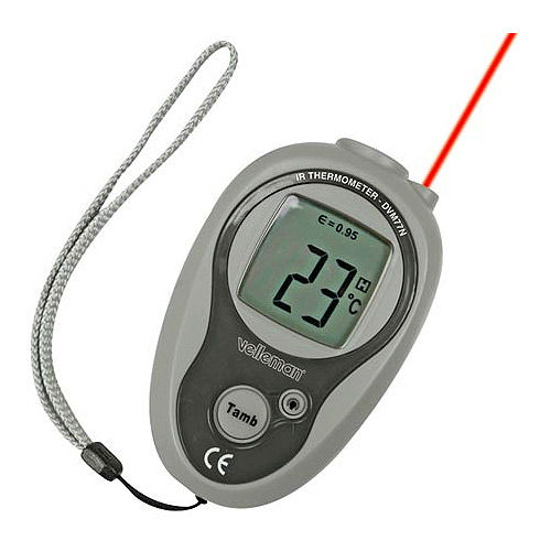 IR Non-Contact Pocket Thermometer - dual C and F - Image one