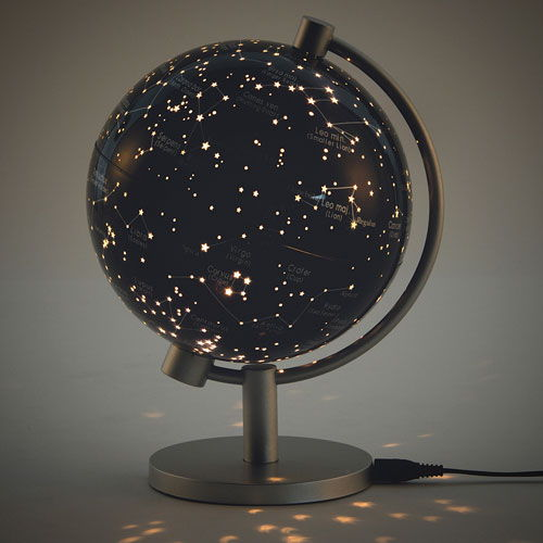 Illuminated Star Globe 5 Inch 34 00