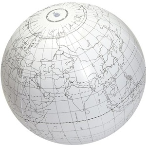 Inflatable Writable Globe - 24 inch - Image One