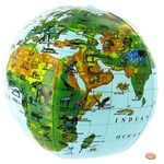 Buy Inflatable Animals of the World Globe - 12in.