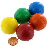 Jumbo Magnetic Marbles - set of 5.