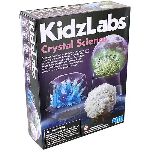 KidzLabs 4M Crystal Science Kit - Image one
