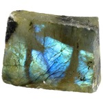Labradorite Chunk - 1 inch with One Polished Side.