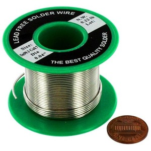 Lead-Free Solder Spool - 100g - Image One