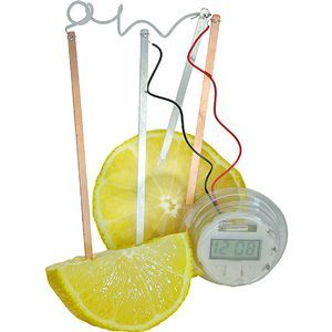 Lemon Clock - Image One