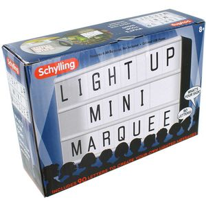 Light-Up Mini Marquee - Image One